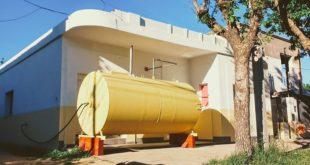 Дом в цистерне для нефтепродуктов