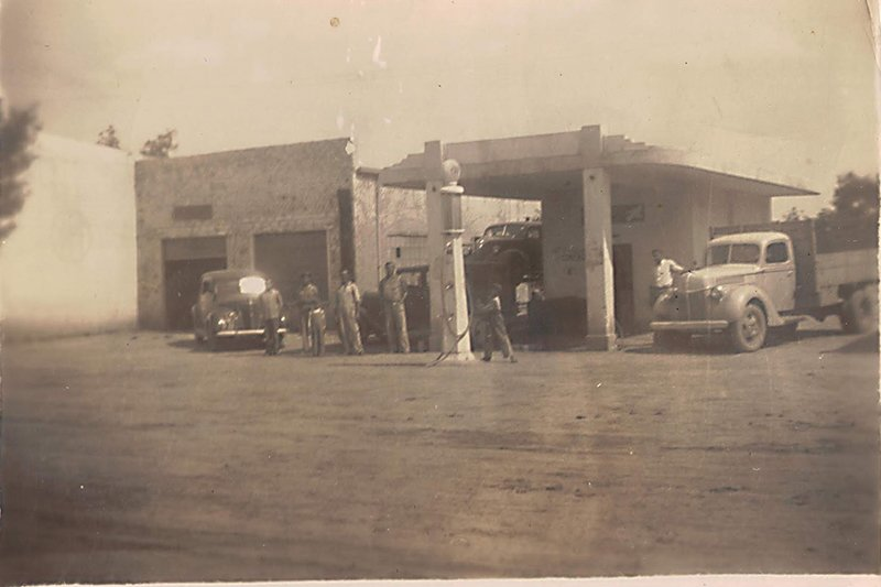 Здание АЗС 1940 года