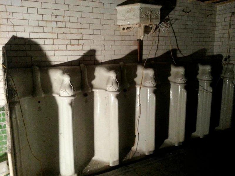 Викторианский туалет в Лондоне