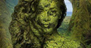 Лицо природы от графического дизайнера Игоря Морски