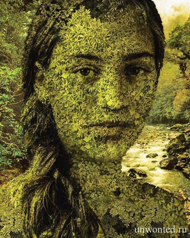 Природа в лице человека