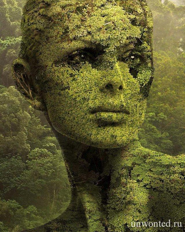Природа лицо девушки фото Igor Morski